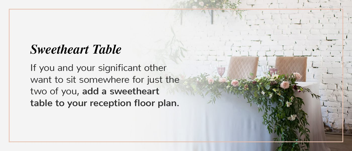 what is a sweetheart table